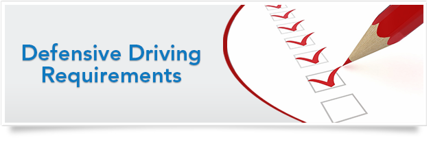 Defensive Driving Requirements